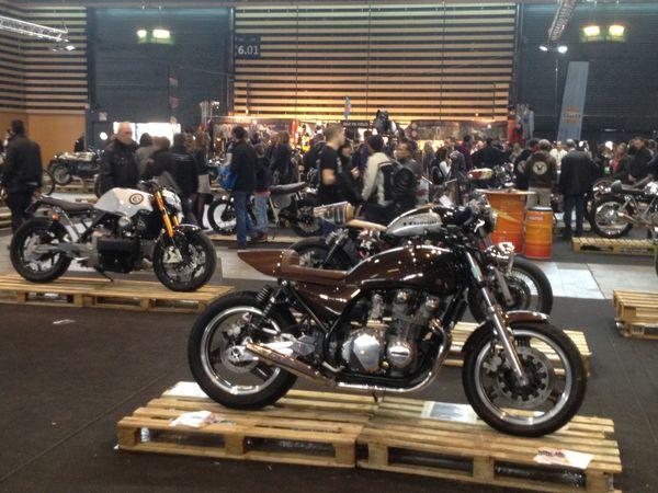 Lyon : Les Café Racer au Salon du 2 Roues