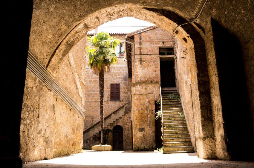 Architecture Italia Italy No People Orvieto Umbria Walkway