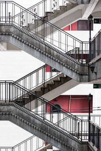 Stairways of an old building