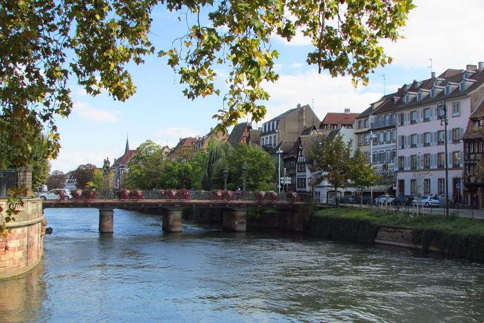 Stasbourg Alsace France Paysage Paysage D'été Paysage Urbain Paysages Rhin Stasbourg