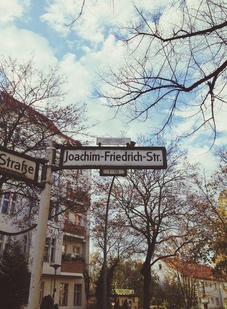 Homebound for a couple of days ... Charlottenburg  vom Feinsten!