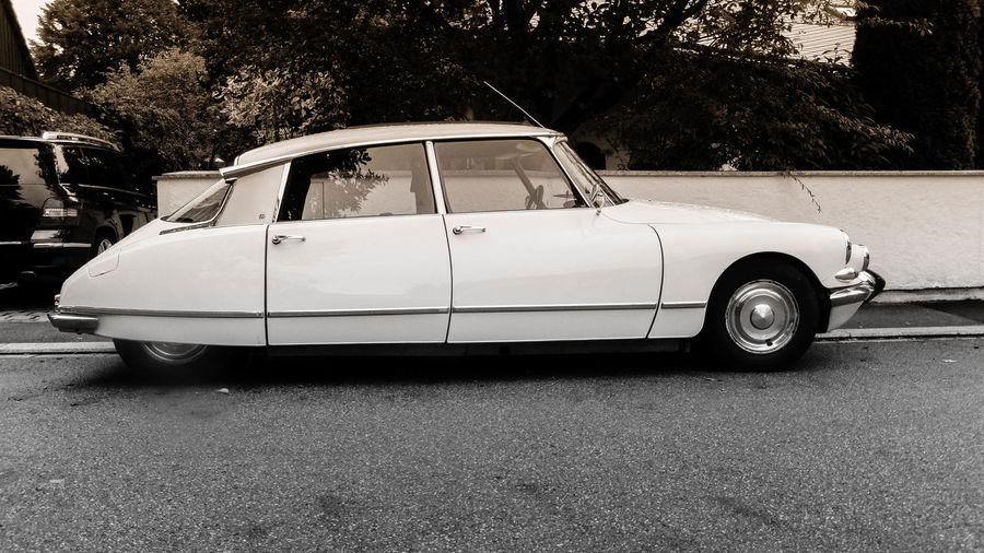 Car, oldtimer, citroen ID19 Citroen ID19 French Car Wonderful Auto Blackandwhite Car Oldtimer White