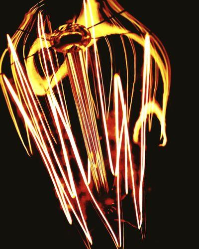 Littlelight Yellow Red Orange Original Art Eyem Urban Electricity