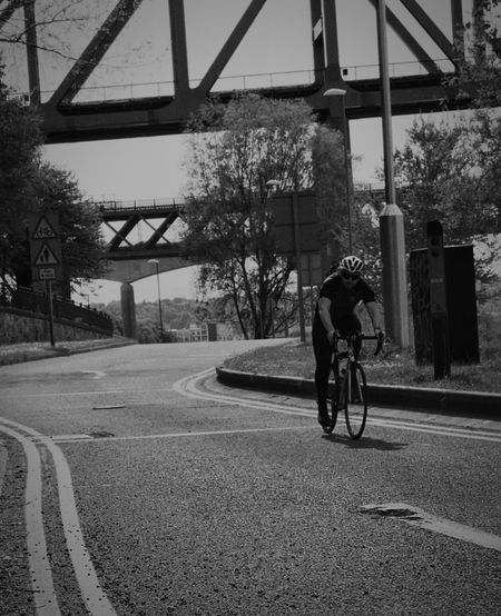 Cyclist Urban Urbanphotography Urban Photography Cyclephotography EyeEm Gallery EyeEmNewHere EyeEm Best Shots Leisure Activity Tree City Bicycle Cycling Cycling Helmet Sky Architecture Built Structure Bicycle Lane Riding Racing Bicycle Pedal Bridge - Man Made Structure Moving Handlebar Road Marking Land Vehicle