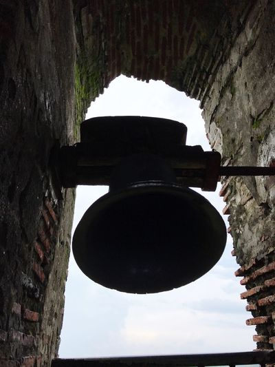 Ring it right 💙 Low Angle View Day Architecture Built Structure No People Outdoors Close-up Sky Church Bell