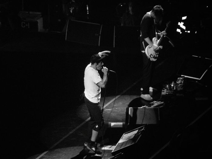 Monochrome Photography Rhcp Redhotchilipeppers Anthonykiedis JoshKlinghoffer Gig Concert Concert Photography Bw Blackandwhite Blackandwhite Photography Music Passion