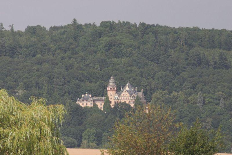 Schloss Wolfsbrunnen Castle Werra Werratalsee Eschwege Meinhard Mountains Germany Place Of Worship Travel Destinations Building Exterior History Day