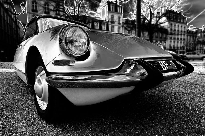 Bordeaux Old Car Vieille Voiture Bordeaux Citroen Id19 Black & White Noir Et Blanc Photos Around You