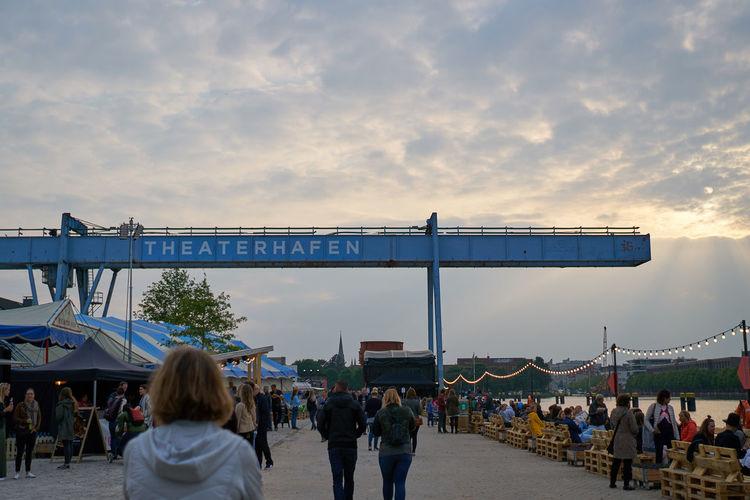 Hafen Himmel