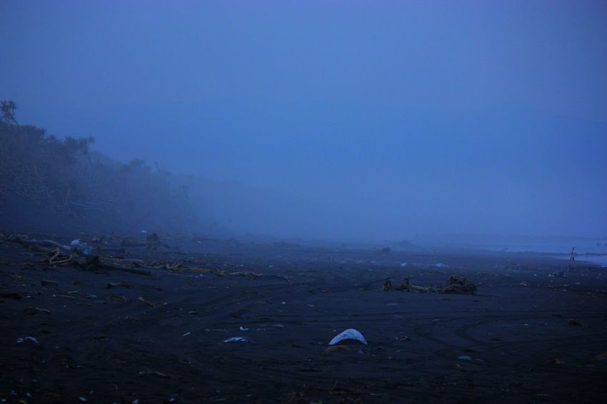 Taiwan Blue Fog No People Beach The Secret Spaces