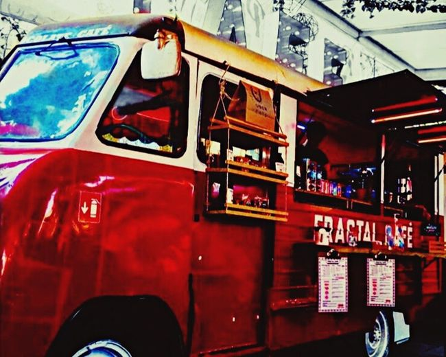 Food truck Outdoors Foodtruck Red Color