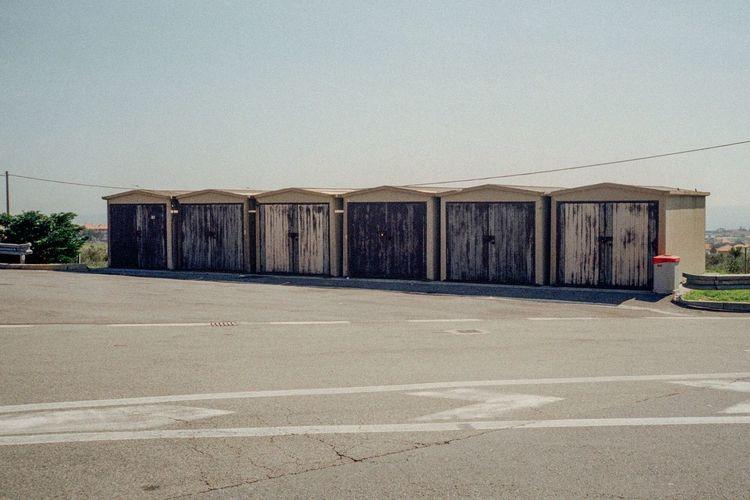 Empty Parking Garage Garage
