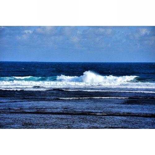 Blue Ocean Seaside Beautiful Island Indonesia