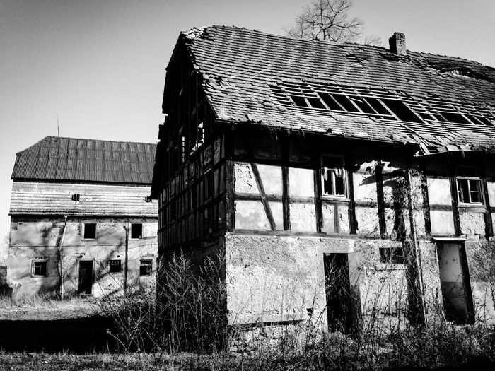 Blackandwhite Abandoned Places Abandoned Abandoned Buildings Barn Barns Damaged Weathered