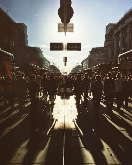 Large Group Of People Architecture City Walking Outdoors Crowd Sky Day City Life The Week Of Eyeem London Retail  First Eyeem Photo The Street Photographer - 2016 EyeEm Awards Oxfordstreet Oxford Circus Crazyshopping Mirror Reflection Reflection And Shadow Busy Street Busy Day Travel Photography Summer ☀ 7th September 2016 Lifestyles