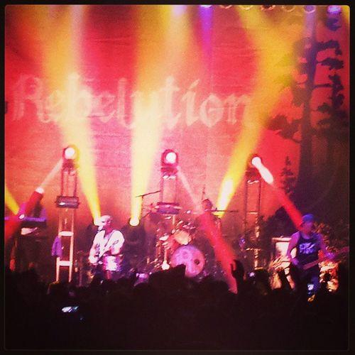 Rebelution in Mesa, Az 8-8-13 Rebelutionmusic Calireggae Concert Concert lights arizona