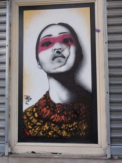 Streetphotography Streetart Urban Portrait Painting Finbarr Dac