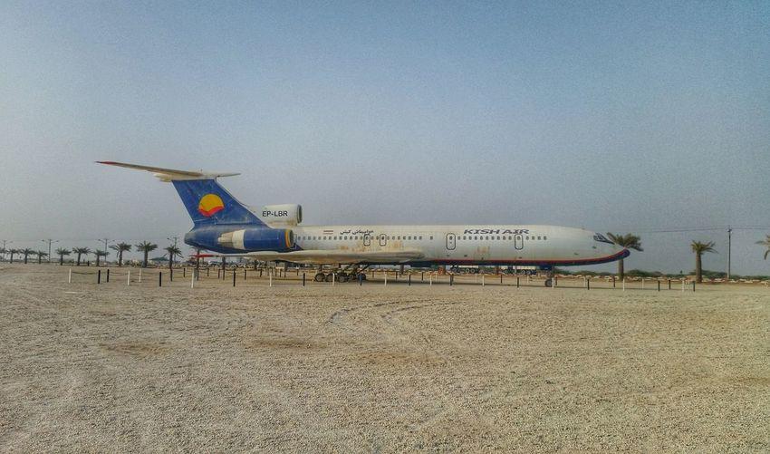 Kish Air Kish Air Kish Airplane AirPlane ✈ Greek Ship Park Plane Iran Boeing Aviation Love Aviation Iran Aviation کیش کیش ایر پارک ساحلی کشتی یونانی هواپیما