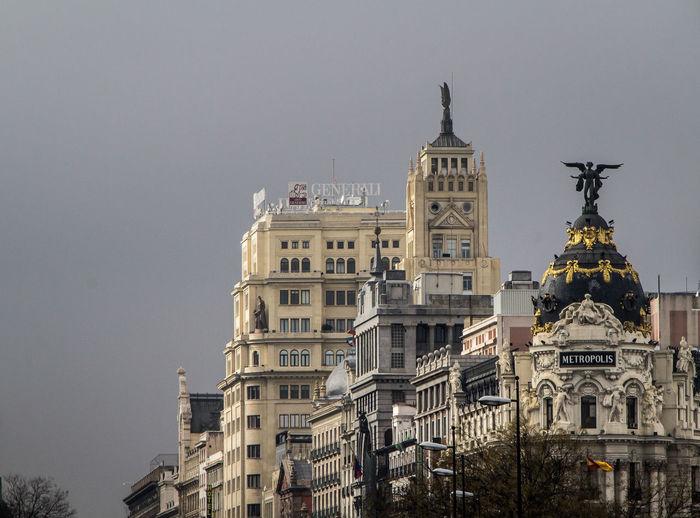 Winter in the capital of spain, Madrid. Architecture Architektur Gebäude Grey Madrid SPAIN Spanien Structure Struktur Treppe Treppenhaus
