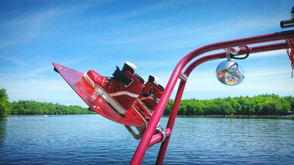 Its official Wakeboarding in maine has started for the summer. Cant wait to spend more time out on the SacoRiver tearing up some big wakes and rope swings.