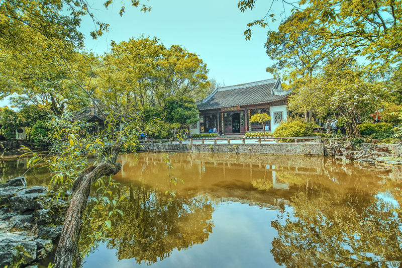 Architecture Beauty In Nature Building Exterior Built Structure Lake Nature No People Outdoors Reflection Sky Tree Water Waterfront