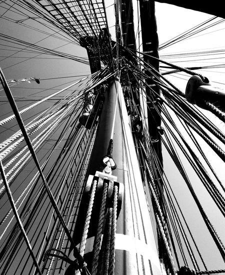 Boat Amerigovespucci Intrecci Ropes Sealife Blackandwhite Marina Nofilter High Section Taking Photos Enjoying Life Picoftheday First Eyeem Photo