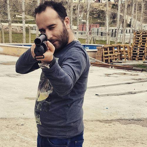 Potrait People Watching Guns Gun Me Ankara Shot