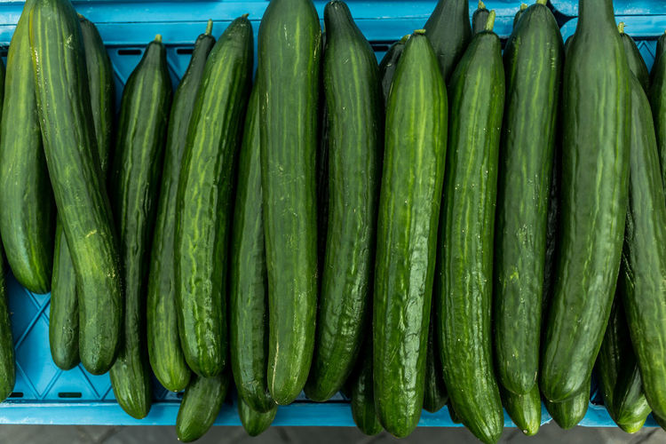 Zucchinis For Sale At Market