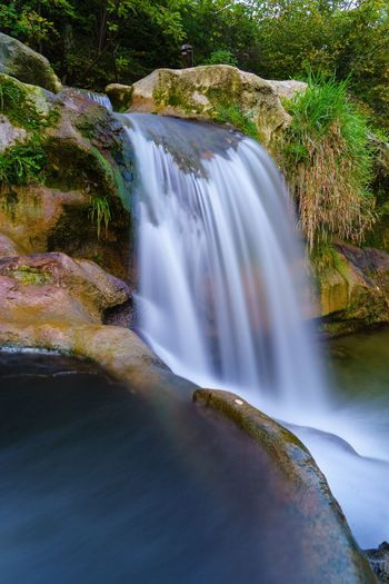 Waterfall Water Motion Long Exposure Scenics Beauty In Nature Nature No People River Outdoors Day Travel Destinations Tree Winterthur Affenschlucht SONY A7ii