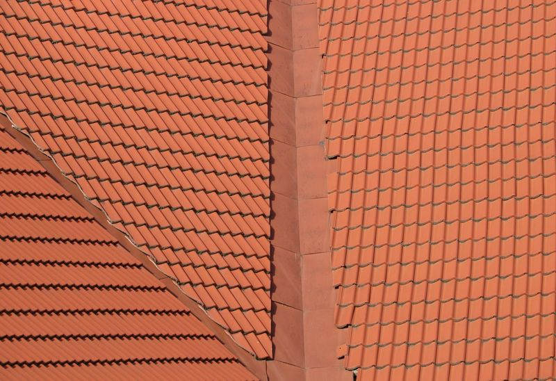 Abundance Architecture Background Texture Backgrounds Built Structure Close-up Full Frame Geometry Geometry Everywhere Geometry Pattern Geometryurban No People Outdoors Pattern Red Repeating Element Repeating Patterns Roof Rooftop Tile Tiled Roof  Tiles Textures Beautifully Organized The Graphic City