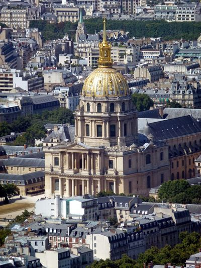 Hotel Des Invalides Architecture Building Exterior Built Structure City Cityscape Day Dome No People Outdoors Place Of Worship Religion Travel Destinations