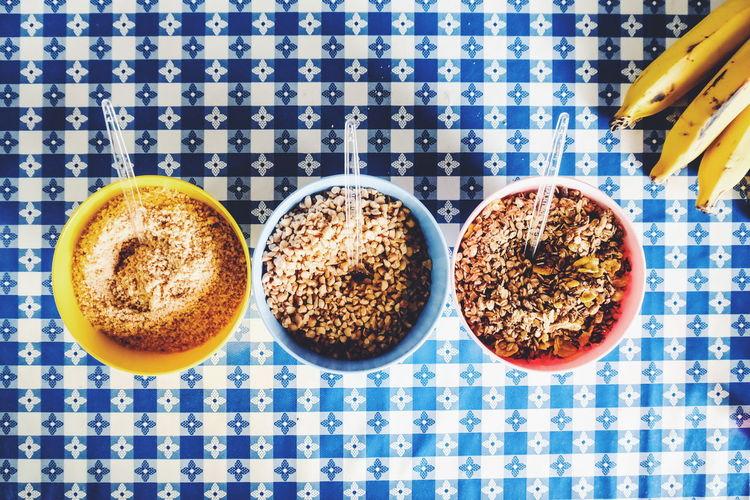 nutrition Food Hl Health Healthy Comida Nutricao Nutrition Kgs Saúde Salud Ricardobarbosa Crossfit CFPRS Sport Brasil Brazil Banana Cerals Studio Shot Tablecloth Directly Above Table Close-up Food And Drink The Traveler - 2018 EyeEm Awards EyeEmNewHere