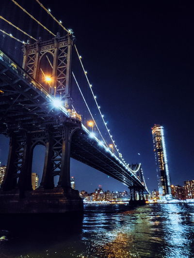 manhathan ny Ricardo Barbosa CFPRS Ricardobarbosa USA NY New York Visitusa HUAWEI Photo Award: After Dark Water Illuminated Nautical Vessel City Nightlife Metal Industry Bridge - Man Made Structure Business Finance And Industry Sky Entertainment Crane - Construction Machinery Tall Ship Harbor Shipyard Electric Light Cable-stayed Bridge Construction