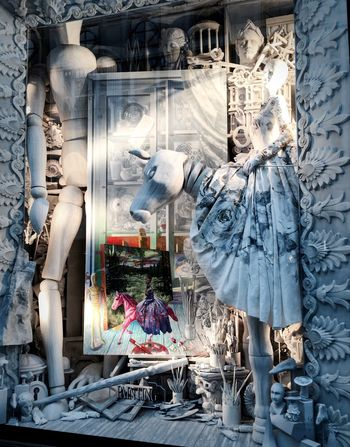 Paint Bergdorf Goodman Christmas In New York Streetphotography