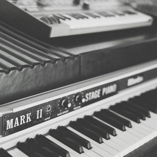 Blackandwhite Music Vintageinstrument Monochrome