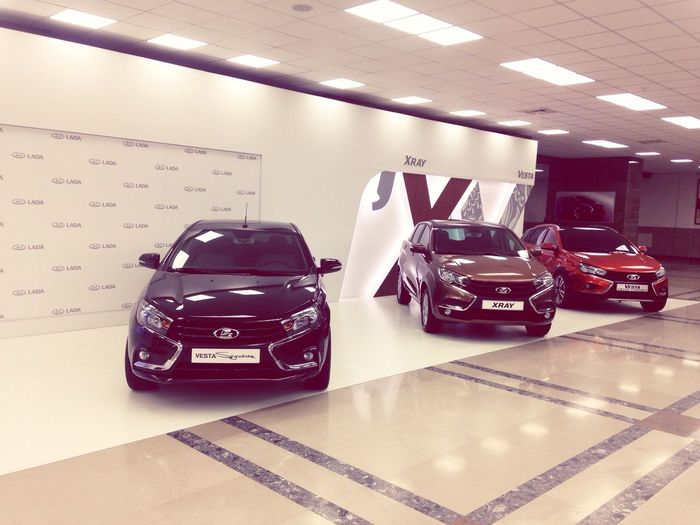 There are thre gorgeous new LADA cars Proud Cars Car Porn Taking Photos LADA Ladalike Enjoying Life Check This Out Car Collection Lada Vesta Lada Xray Gorgeous