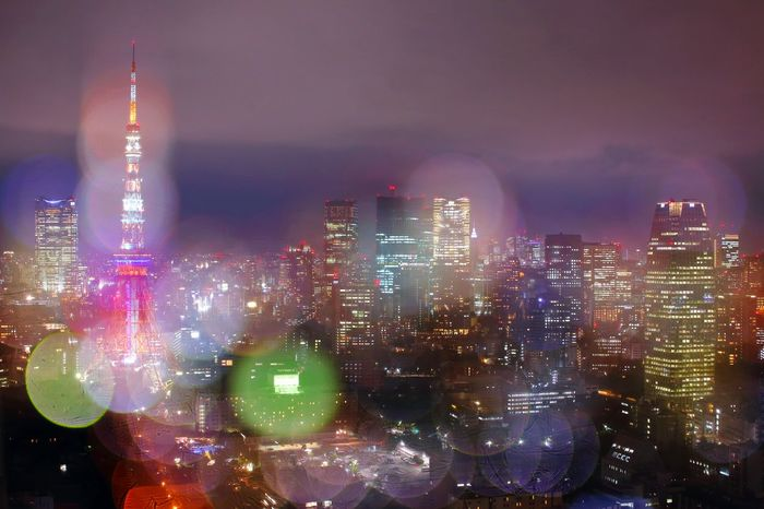 Night City Skyscraper Cityscape Illuminated Urban Skyline Travel Destinations City Life Architecture No People Modern Building Exterior Outdoors Vacations Downtown District Sky Go Higher This Is Queer Inner Power EyeEmNewHere