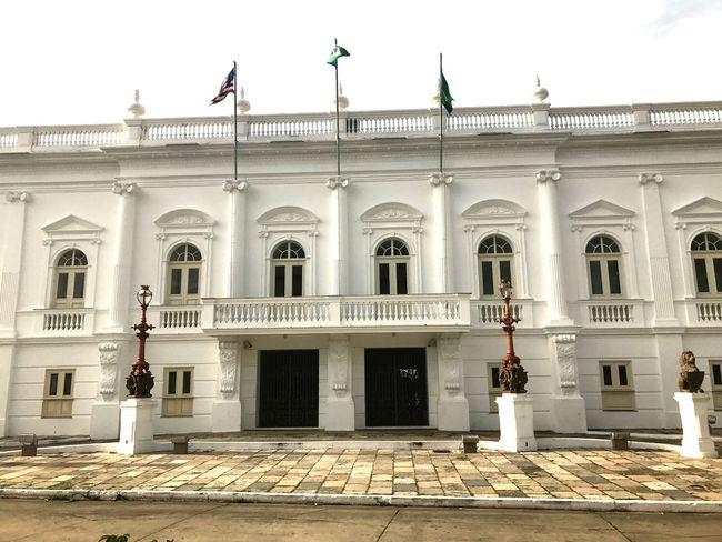 Palácio do Leões Centro Histórico de São Luís - Maranhão Building Exterior Architecture Architectural Column Travel Destinations Built Structure City Day Lifestyles Full Length