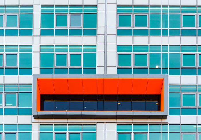 Architecture Architecture Backgrounds Blue Building Building Exterior Built Structure City Day Façade Minimal Minimalism Minimalist Minimalist Architecture Minimalist Photography  Minimalistic Minimalobsession Modern No People Outdoors Pattern Rectangle Red Window The Architect - 2017 EyeEm Awards