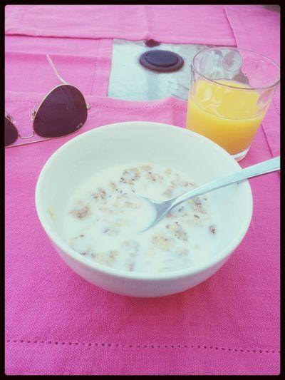 Morning Morningbreakfast Juice Cereal