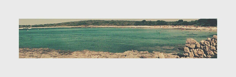 Menorca Summertime Verano2016 Beautifull Beach White Background
