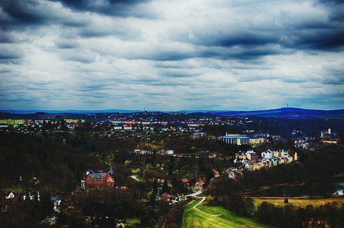 Greiz Landscape Thuringia Hdr Edit