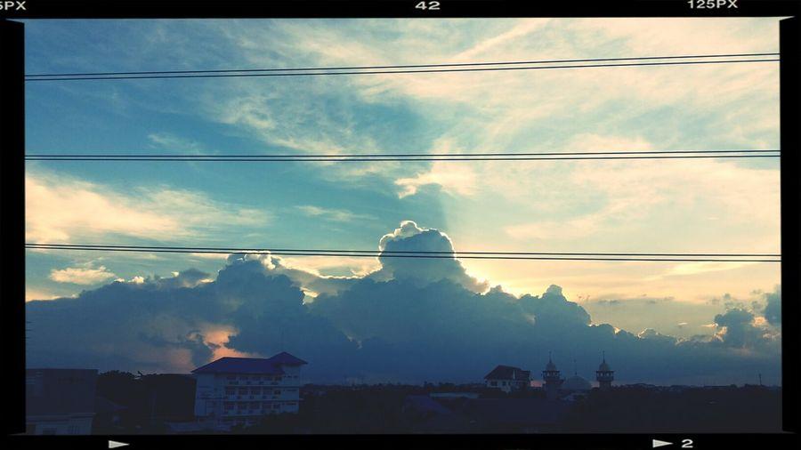 Sky Sunset Cloud Thailand