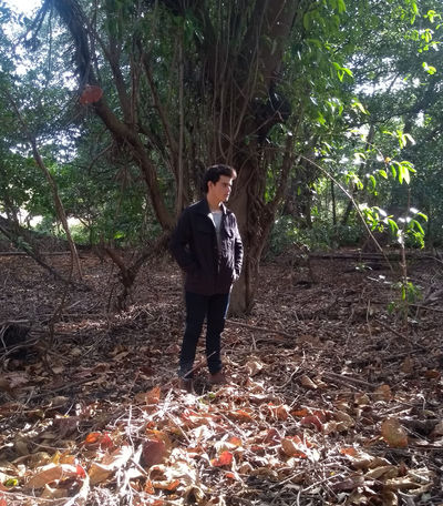 thinking about life Tree Full Length Standing Forest Casual Clothing