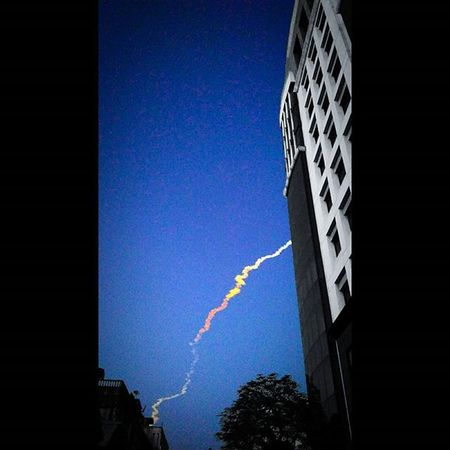 PSLV launch as seen from office!!! Pslv Isro Redimi2