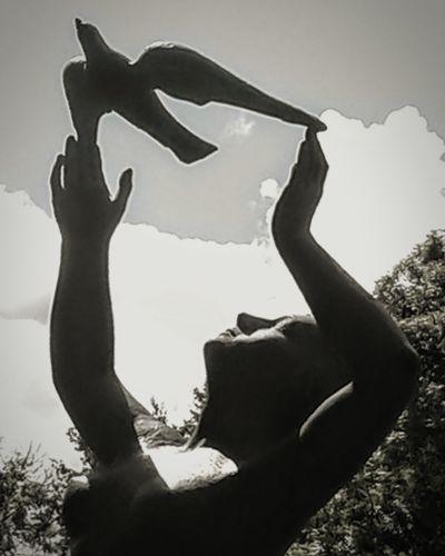 Silhouette Only Women Sculpture Detail Sculptures Outdoors Sculpture Park Art Is Everywhere ArtWork Artphotography Blackandwhite Blackandwhite Photography Black And White Photography Black And White Collection  Blackandwhitephoto Peace ✌ Peace Of Mind Peaceful Moments Peaceful Evening