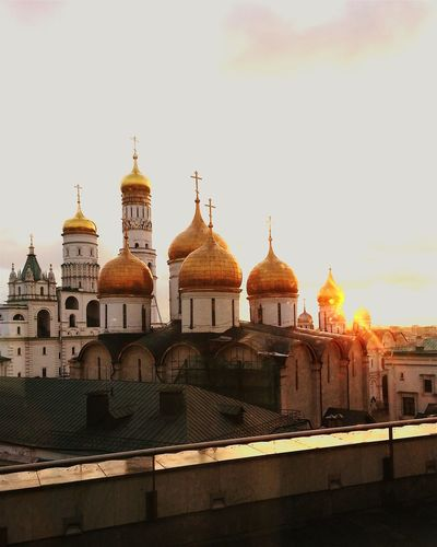 Good Morning ☺ Church Russia Moscow
