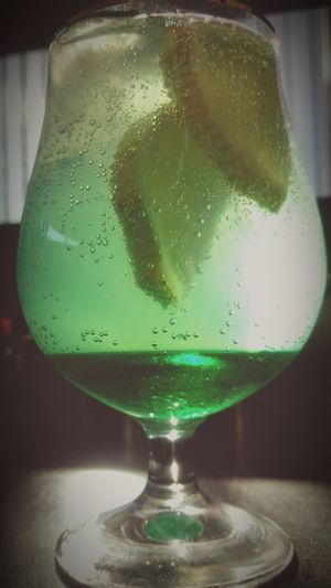 Green Color Drink No People Fragility Food And Drink Close-up Indoors  Freshness Day Alcohol Drinking Glass Refreshment Good Morning Window Just Chilling Indoors  Just Thinking Transparent Just Something Colour Of Life Colours Of The Sea Colorful First Eyeem Photo Shadows & Lights Visual Feast