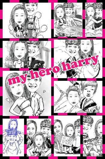 my hero harry ... One Direction ❤ Boyfriend❤ Love ♥ Harry Styles <3