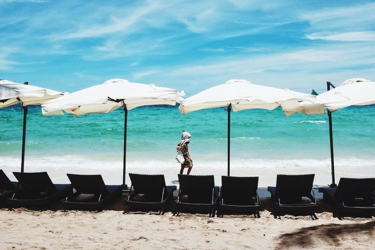 Colour Your Horizn FilipinoStreetPhotographers Sand Beach Sea Chair Outdoors EyeEm Boracay Philippines